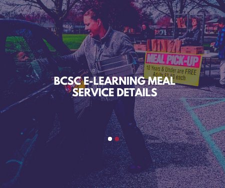 BCSC E-Learning Meal Service Details
